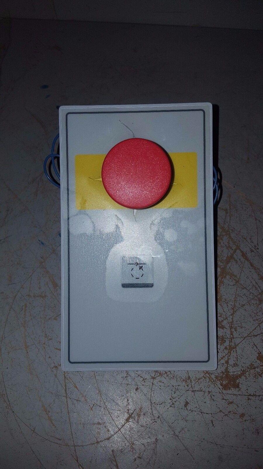 Eastprint E Stop Switch Panel, 5551820-02 REV - 01263 PDB73975