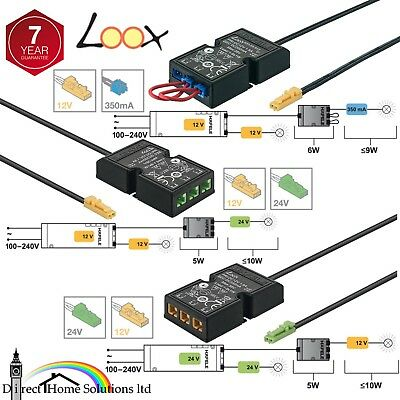 Hafele Loox Strip Light Led System 12v 24v 350ma Converter