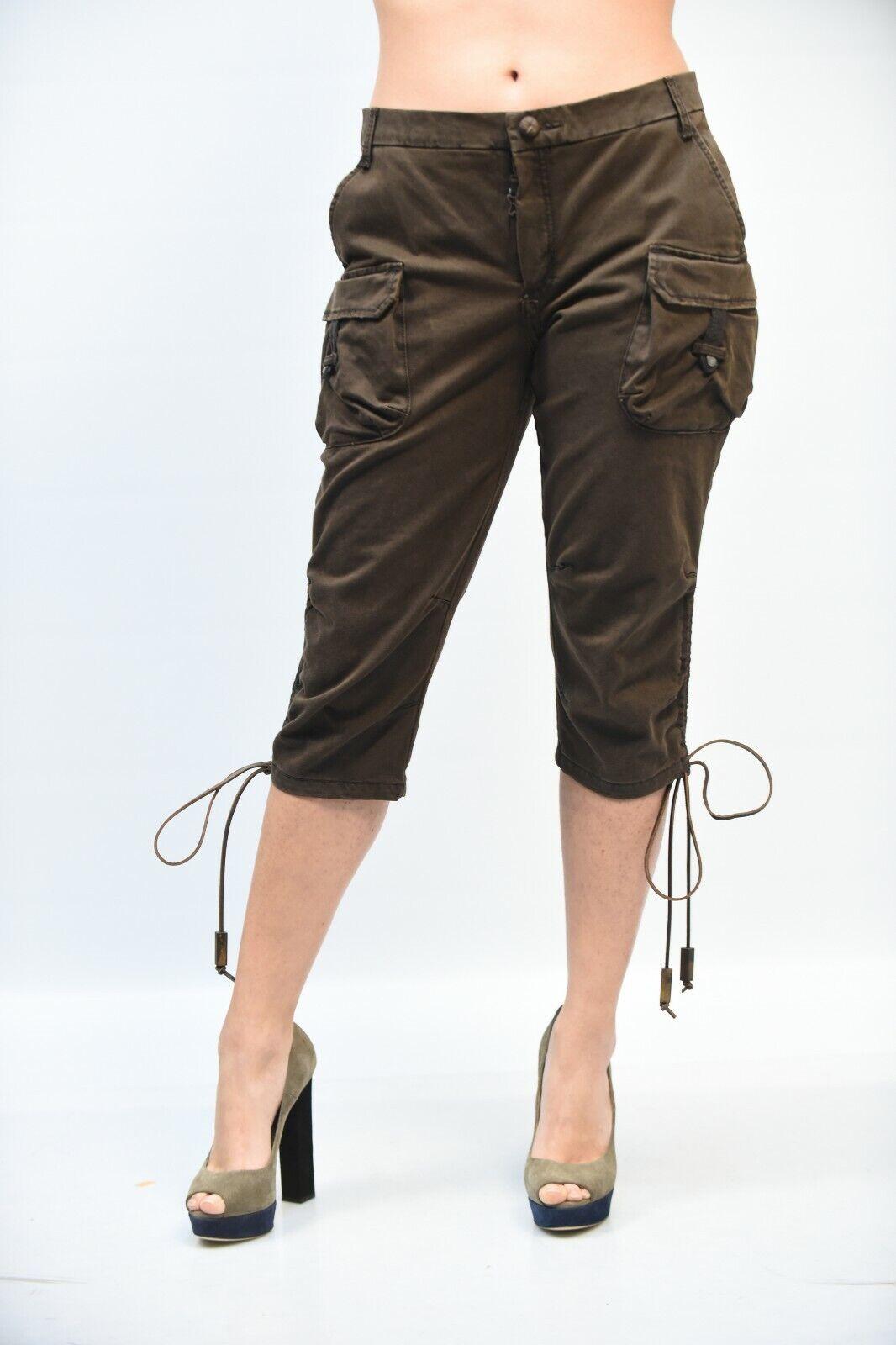 BERMUDA  - 50% women FRANKIE MORELLO D051 1258 brown MIS.38 AA