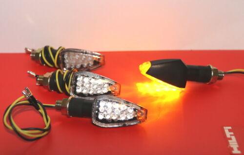 4 x 14 LED Universal Motorrad Mini Blinker Licht Quad Roller Lampe E-Prüfzeichen