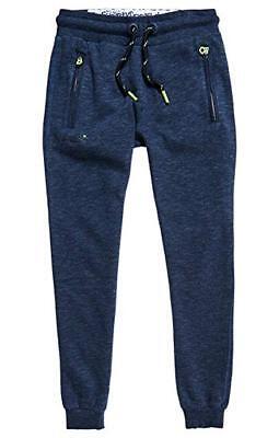 NWT Superdry Men/'s Orange Label Slim Jogger Sweatpants Flint Grey Grit S-2XL