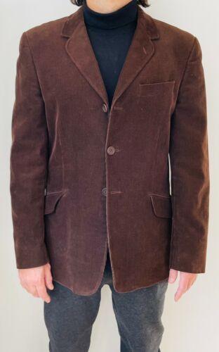 Paul Smith Vintage Brown Corduroy Sport Coat, Mens