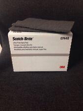 3M 7448/07448 Scotch-Brite Ultra Fine Grey Scuff Pads (20/bx)