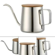 350ML Long Narrow Spout Coffee Pot Pour Over Gooseneck Kettle Stainless Steel