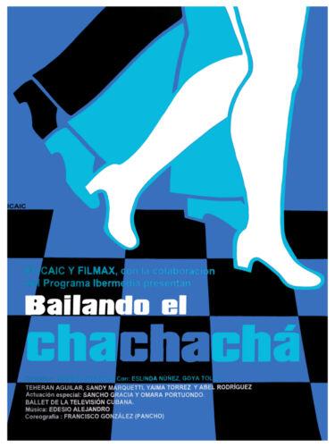 Art Decor.3139 Bailando el Chachacha cuban vintage film POSTER.Graphic Design