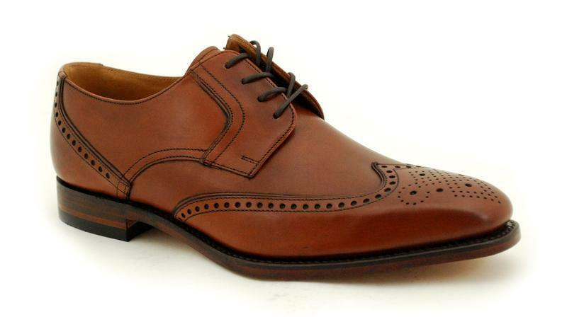 Loake cadre cousue premium Chaussures Hommes 5 Mahogany Eye waterloo Mahogany 5 e5f077