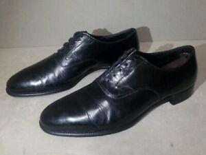 Black Leather Oxford Sz 8