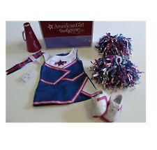American Girl Doll Cheer Leading Dress Sneakers Shoe Set Outfit Gear 2 in 1
