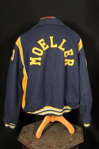 VINTAGE-1990-039-S-BLUE-WOOL-AND-GOLDEN-YELLOW-STADIUM-JACKET-SIZE-XX-LARGE