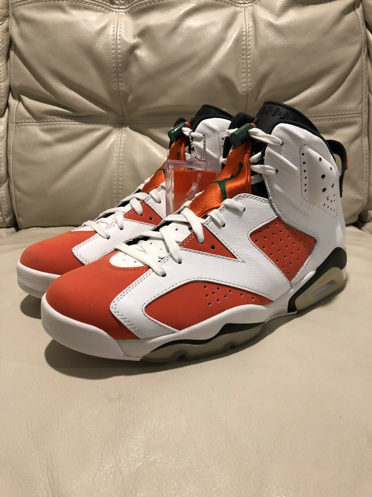 Nike Air Jordan 6 Retro  LIKE MIKE  colorway, Size 10.5 Mens, BRAND NEW IN BOX