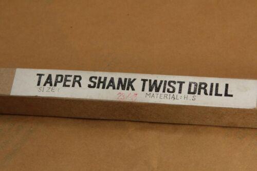 """NEW   23//32/"""" DRILL BIT 2MT MORSE TAPER     FREE SHIPPING"""