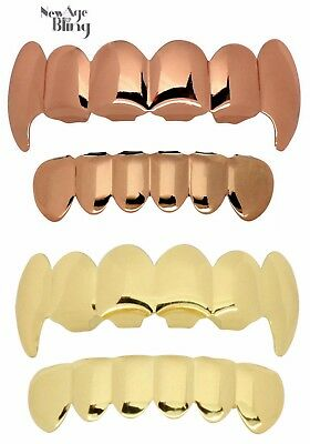 Single Tooth Cap Custom Fit Gun Metal Tone Grillz Hip Hop Teeth w//Mold