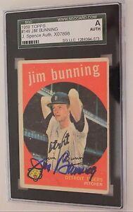 1959-TOPPS-149-HOF-JIM-BUNNING-TIGERS-JSA-SGC-SLABBED-SIGNED-CARD-AUTO