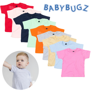 Babybugz Baby Long Sleeve T-Shirt Infant Toddler Kids Soft /& Stretchy Cotton Tee