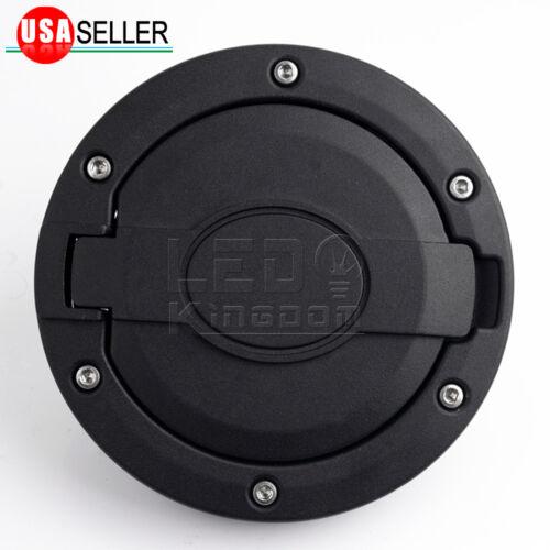 Unlimited Black Matte Fuel Gas Cap Cover Tank Door For Jeep Wrangler 07-18 JK