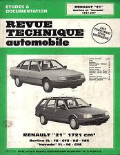 RTA revue technique automobile  RENAULT 21 R21 BERLINE ET NEVADA