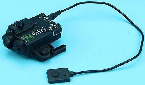 G/&p Compact Double laser Destinator noir pour Airsoft Jouet GP-LSP007BK