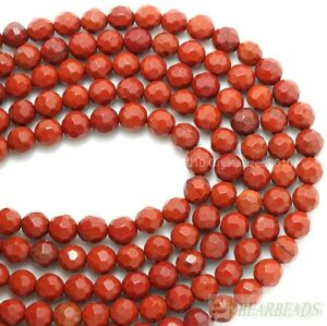 Natural-Red-Jasper-Gemstone-Faceted-Round-Spacer-Beads-6mm-8mm-10mm-12mm-15-034