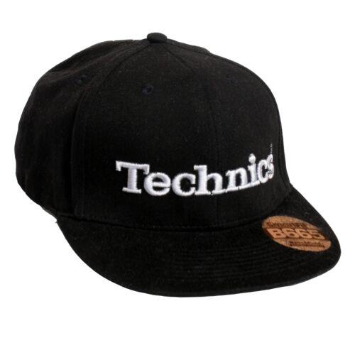 TECHNICS DJ 3D Snapbacks différentes couleurs sous licence officielle-édition ltd