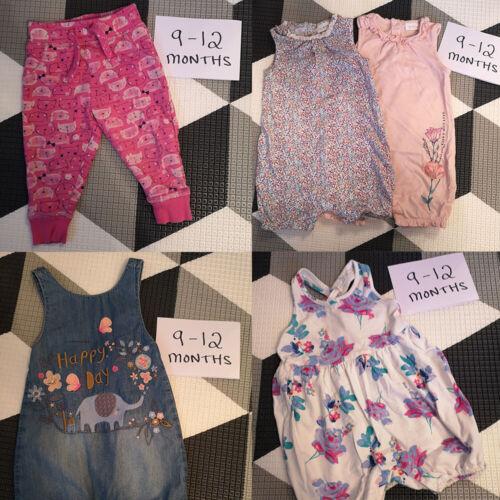 Next Little Bird Baby Girls Clothes Build a Bundle 9-12 Months Multi TU