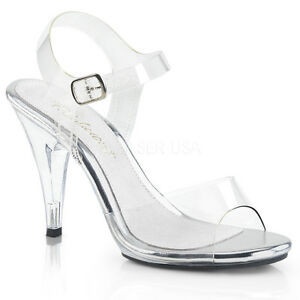 PLEASER-FABULICIOUS-CARESS-408-CLEAR-BIKINI-COMPETITION-SANDALS-SHOES