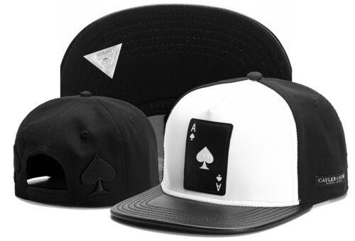Hot Hip Hop Men/'s CAYLER Sons Cap adjustable Baseball Snapback hat Black 146#