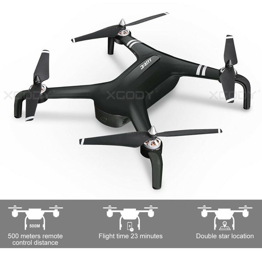 About 500M Long Control Range Drone 23mins Flying With 1080P Adjustable Camera