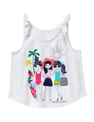GYMBOREE Girls Mix N Match Nwt Great Day For The Beach Tank Shirt  2t
