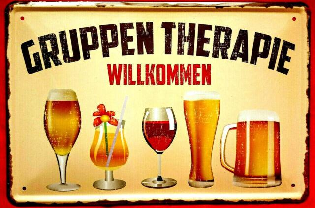 Blechschild 20x30 Retro Vintage Reklame Bier Party Cocktail Geschenk Bar Kneipe