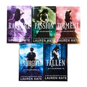 Lauren-Kate-Fallen-Series-5-Books-Collection-Set-Inc-Fallen-Torment-NEW