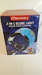 Rare-Pre-production-Sample-Discovery-Kids-Globe-2-In-1-Illuminated-Lighted-Globe