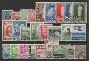 D1609: Better Iceland Stamp Collection; CV