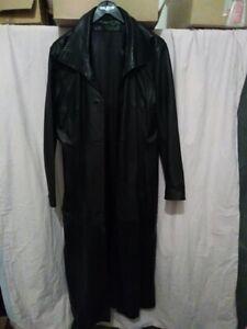 Manteau-long-noir-en-cuir-taille-38-40-en-cuir-de-mouton-pleine-fleur-pigmentee