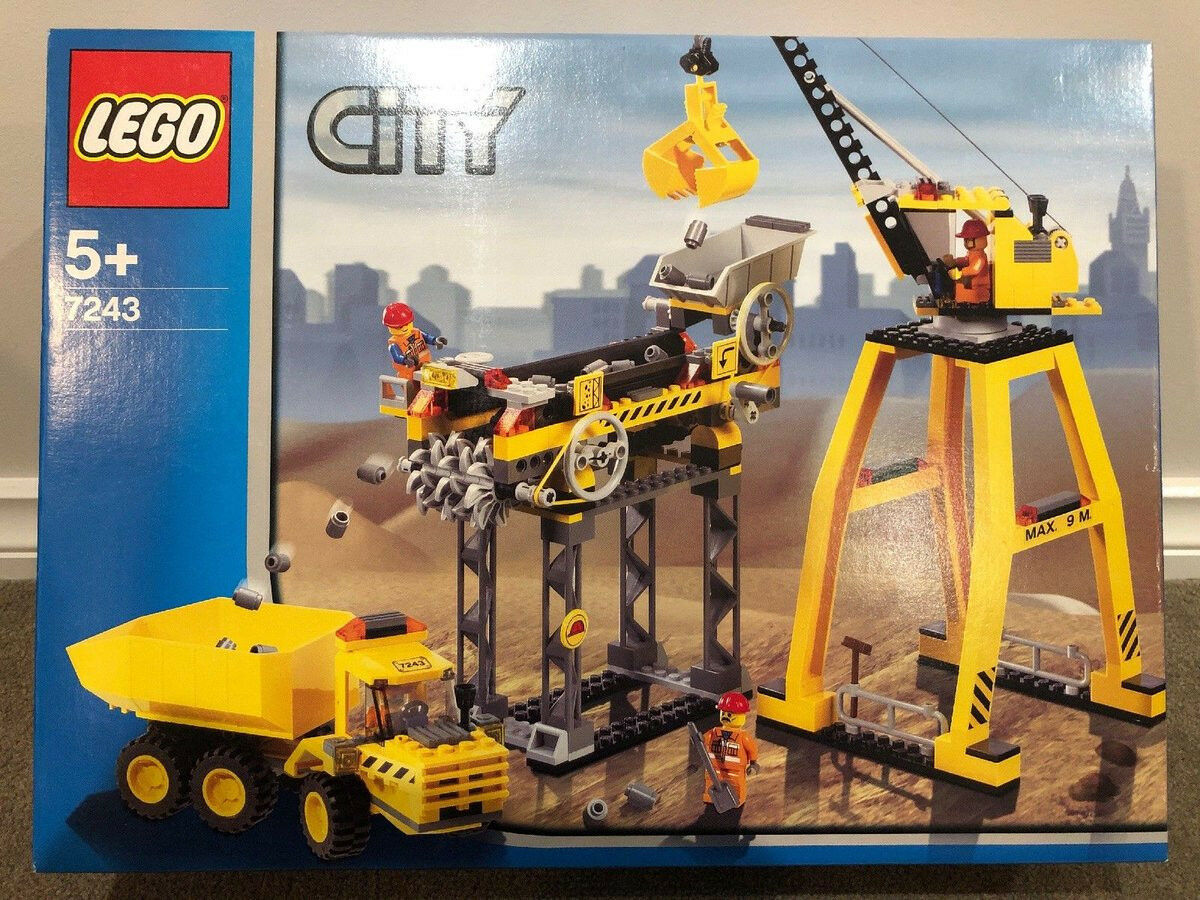 NIB: NEW Lego CITY 7243 -  Construction Site  -  Obra de Construcción  - NUEVO