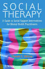 Social Therapy: A Guide to Social Support for Mental Health Practioners by Derek L. Milne (Paperback, 1999)
