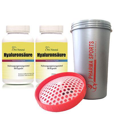 Pro Natural Hyaluronsäure 120 Kapseln aus der Werbung Top Angebot --