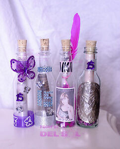 100 Quinceanera Wedding Plastic BOTTLE Party Invitations Mask Feathers Zebra ANY