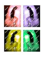 The Many Colors Of Michael Jackson Canvas