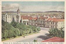 CHILE - Punta Arenas - Palacio de la Intendencia e Iglesia Matriz Salesianos
