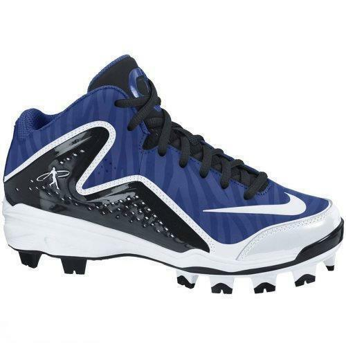 new mens 8.5/9 nike swingman MVP 2 mid mcs molded baseball cleats mismate Comfortable and good-looking