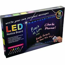 Flashing Illuminated Erasable Neon LED Message Writing Board 60CM x 40CM