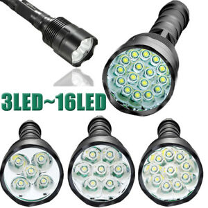 Tactical-T6-LED-5-Mode-Super-Bright-90000LM-Light-Flashlight-Torch-Lamp-Hunting