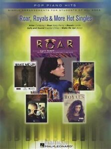 Details about Roar, Royals & More Hot Singles Pop Piano Hits Easy Sheet  Music Book