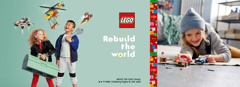 Use code PLUSBF20 - 20% off* LEGO® sets for eBay Plus members