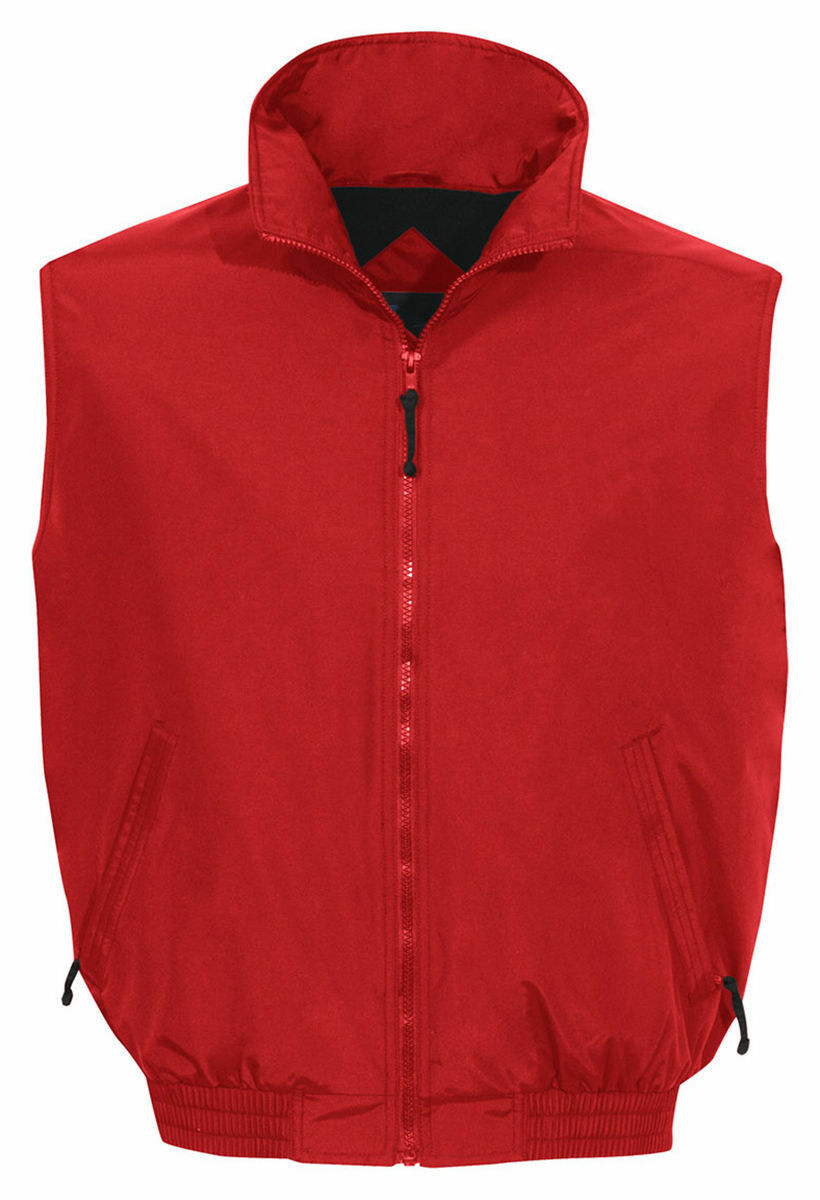 Tri-Mountain Men's Big And Tall Fleece Lining WindProof Vest. 8400-Tall
