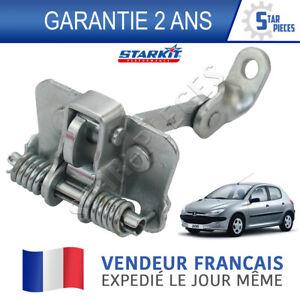 Charnière Arrêt Porte Avant Droite Gauche Tirant Limiteur Pour Peugeot 206