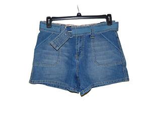 LA-Blues-Stretch-Shorts-10-Women-New