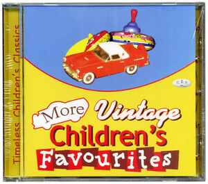More-Vintage-Children-039-s-Favourites-CD-Kids-well-loved-songs-NEW-amp-WRAPPED