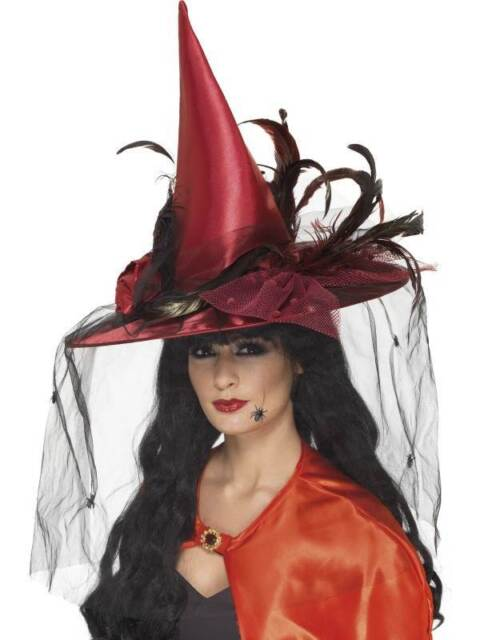 Witch Hat, One Size, Halloween Fancy Dress/Cosplay Accessories #CA