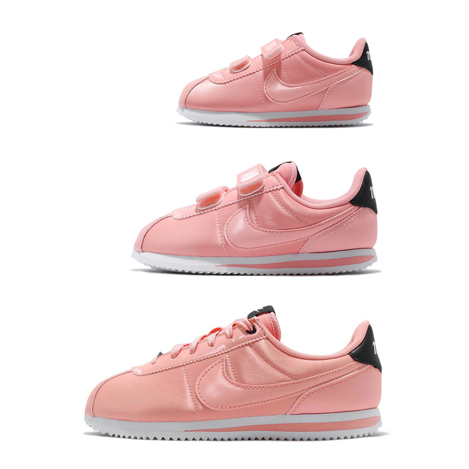 Nike Cortez Basic TXT VDAY Valentines Day Day Day Blencheo Coral mujer Kids PS TD Pick 1  precios mas bajos